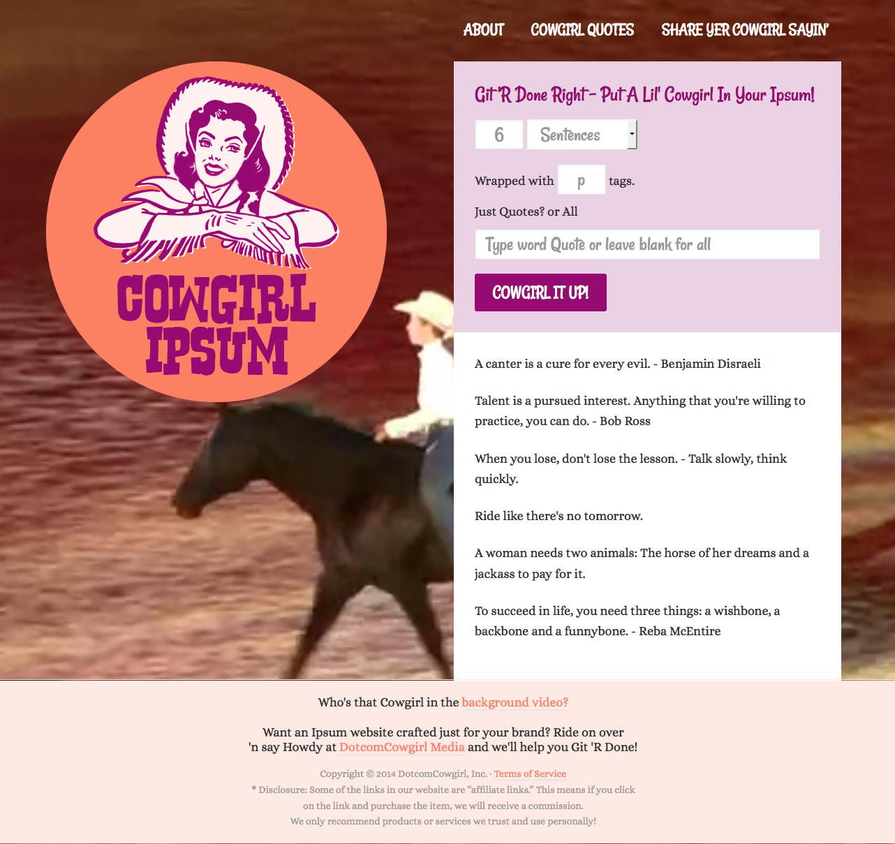 cowgirl-ipsum-fullsite