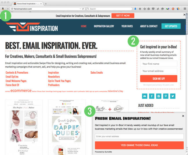 email-optin-examples